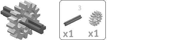 Ildler Axle  Bill of Materials