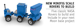 MiniFig Scale Rovers