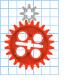 3:1 Gear Ratio