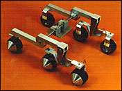 Rocker Bogie Suspention